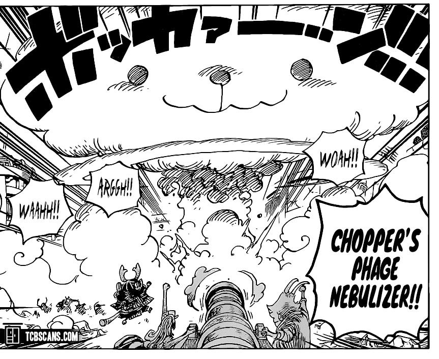 One Piece Chapter 1007-Chopper Delivers the Cure to Everyone