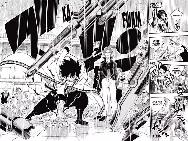 Edens Zero Chapter 135-Shiki's Boost in Power