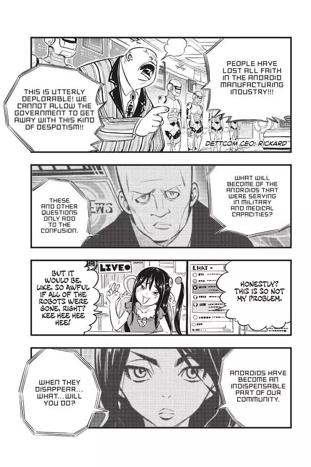 Edens Zero Chapter 136-Aoi Cosmos Crisis Reaction