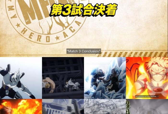 My Hero Academia S5 Episode 8 Cover