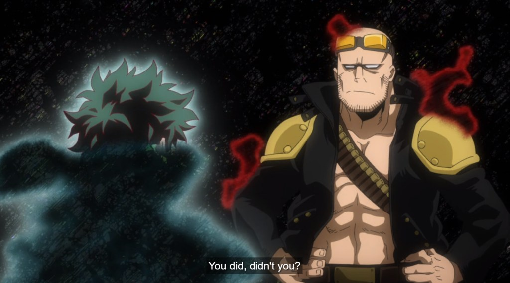 My Hero Academia S5 Episode 10-A Previous Wielder of One for All