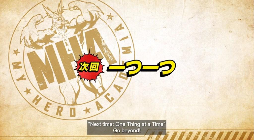 My Hero Academia S5 Episode 15 Preview