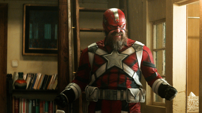 Marvel Red Guardian