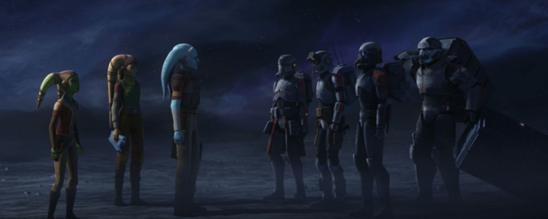 Star Wars: The Bad Batch Episode 11-Bad Batch Delivers to the Twileks