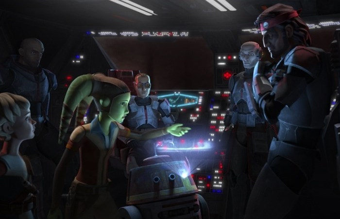 Star Wars: The Bad Batch Episode 12-Hera and the Bad Batch
