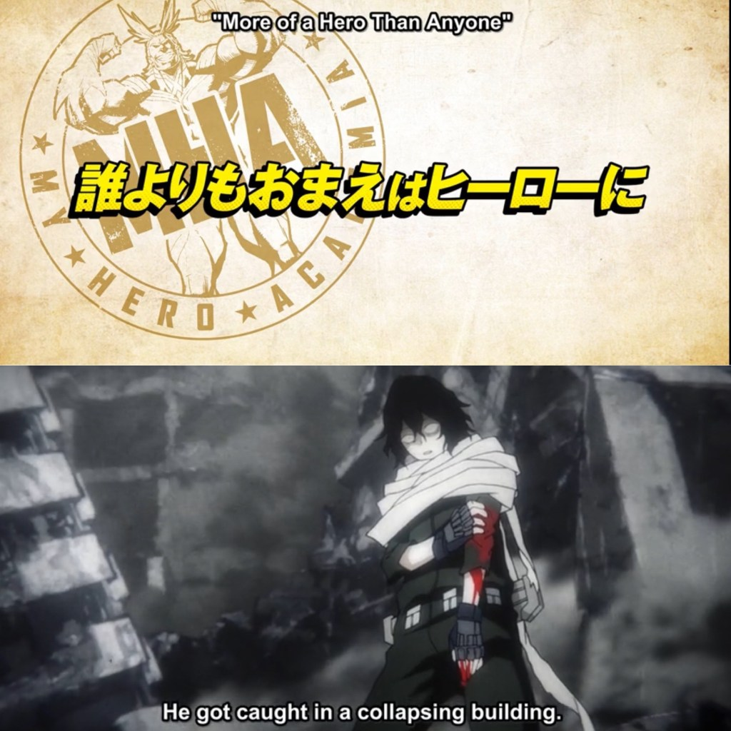 My Hero Academia S5 Episode 19 Cover