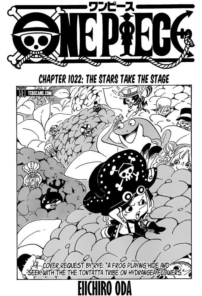One Piece Chapter 1022 Cover Page