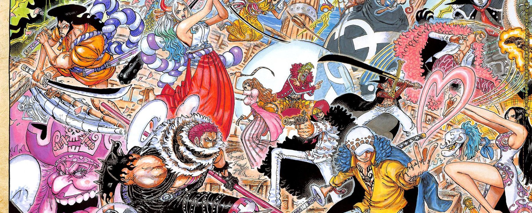 One Piece Chapter 1023 Art Cover