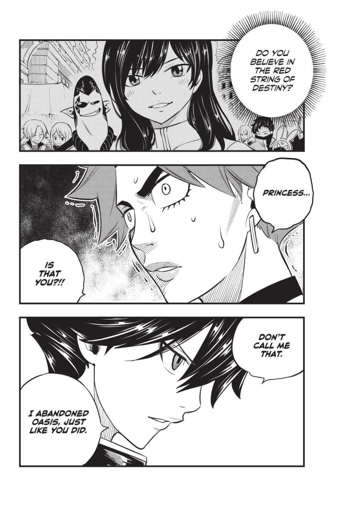 Edens Zero Chapter 157-A Face From Laguna's Past