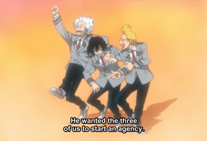 My Hero Academia S5 Episode 19-The Three Friends