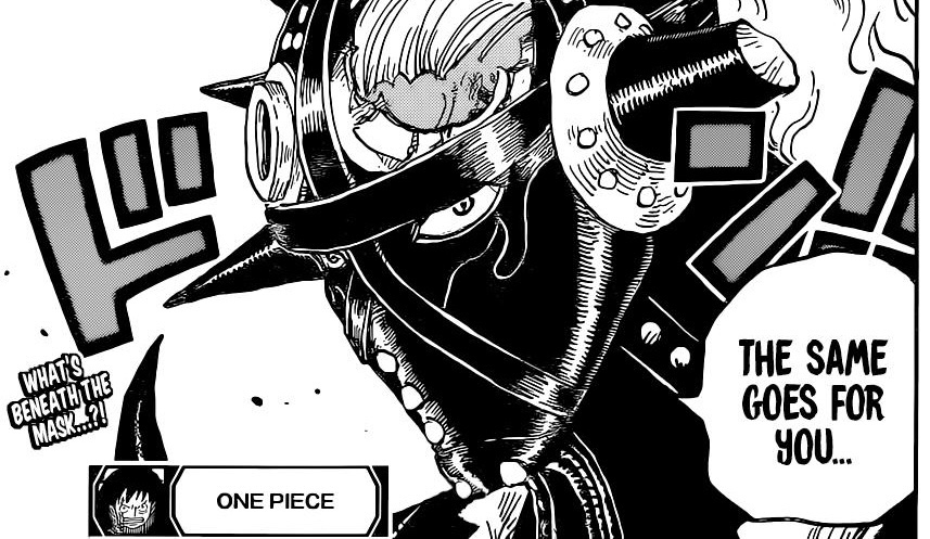 One Piece Chapter 1027-Queen's Mask Cracked