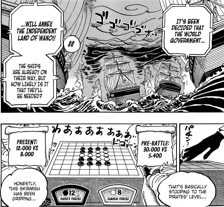 One Piece Chapter 1028-The Ever Shrinking Odds