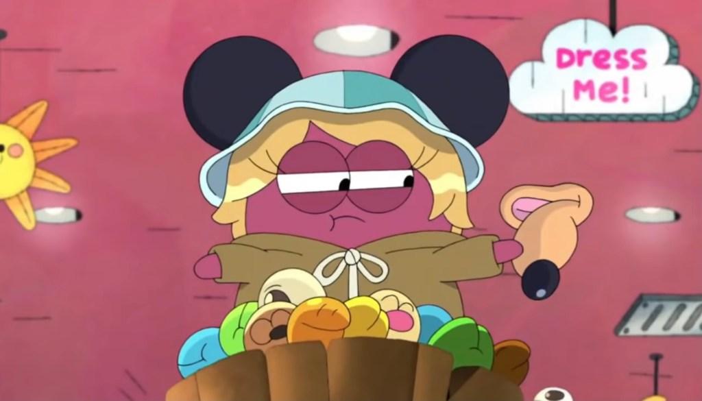 Amphibia S3 Episode 2B-Take That, Disney