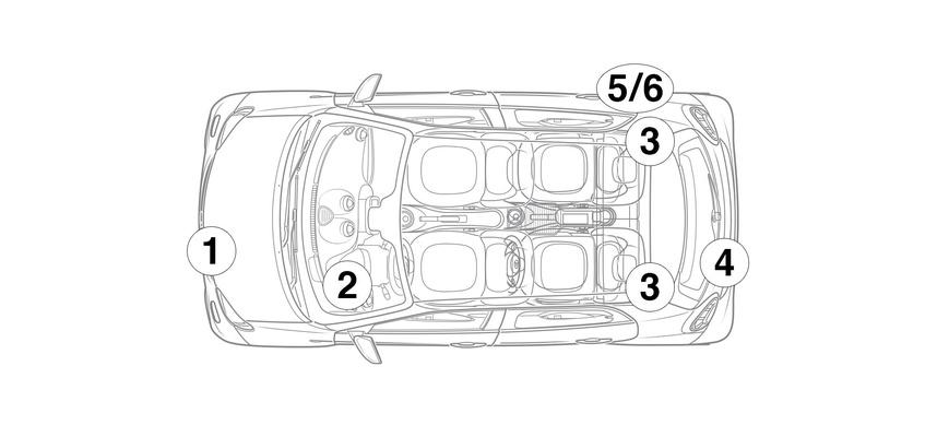 smart forfour electric drive sedan model 453