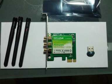 WiFi and Bluetooth adapters