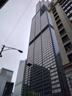 Outside of Willis Tower