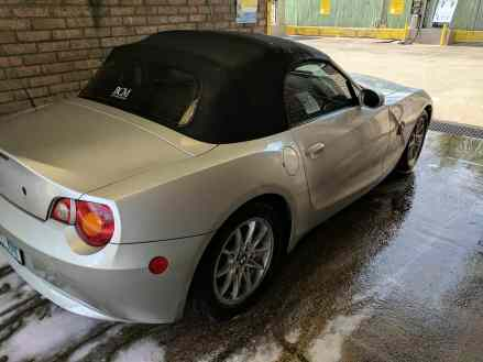 Washing off the Z4