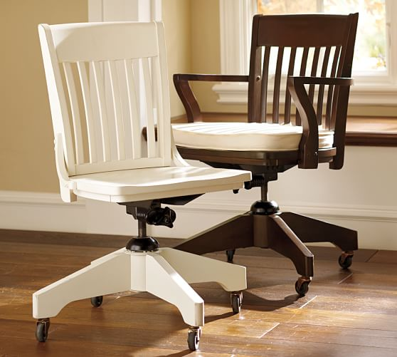Swivel Desk Chairs  Cushions  Pottery Barn