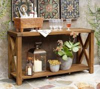 Benchwright Outdoor Console Table | Pottery Barn