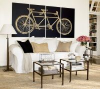 Tandem Bike Wall Art - diy tandem bicycle wall art ...