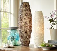 Kai Shell Ambient Cylinder Table Lamps | Pottery Barn