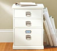 Bedford 3-Drawer File Cabinet | Pottery Barn