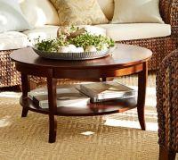 Chloe Round Coffee Table | Pottery Barn