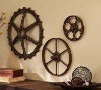 Rustic Gears Set | Pottery Barn