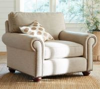 Webster Upholstered Armchair | Pottery Barn