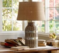 Wicker Table Lamp Base | Pottery Barn