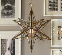 Glass Star Pendant | Pottery Barn