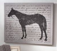 Horse Canvas Wall Art | Pottery Barn