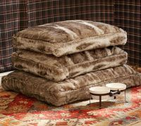 Faux Fur Dog Bed Cover | Pottery Barn