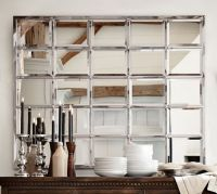 Eagan Multipanel Large Mirror - Silver | Pottery Barn