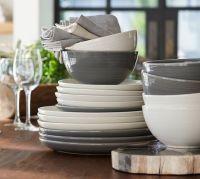 Joshua Dinnerware - Ivory White | Pottery Barn