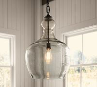 Flynn Recycled Glass Pendant | Pottery Barn