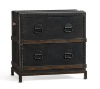 Ludlow Trunk File Cabinet | Pottery Barn