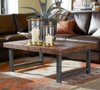 Griffin Reclaimed Wood Coffee Table | Pottery Barn
