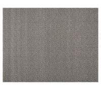 Diamond Wrapped Jute Rug - Gray | Pottery Barn