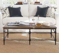 Parquet Reclaimed Wood Rectangular Coffee Table | Pottery Barn