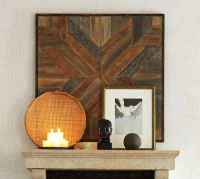 Planked Quilt Square Wall Art | Pottery Barn