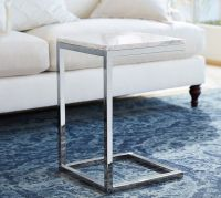 Bryn Marble-Top C Table | Pottery Barn