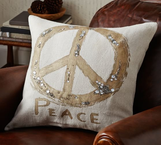 Pillow Peace Sign Pillows