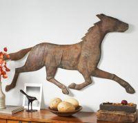 Bronze Horse Wall Art | Pottery Barn