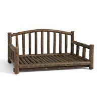 Log Dog Bed | Pottery Barn