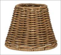 Woven Wicker Chandelier Shade, Set of 3 | Pottery Barn