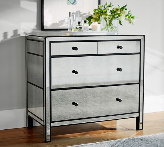 Marnie Mirrored Dresser  Pottery Barn