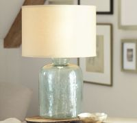 Devin Glass Table Lamp Base | Pottery Barn