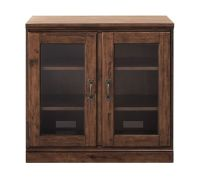 Printer's Double Glass Door Cabinet | Pottery Barn