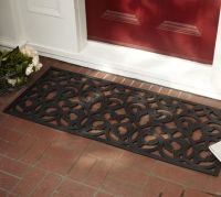 Leaf Rubber Doormat | Pottery Barn